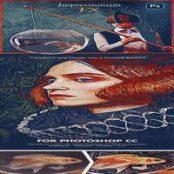 افکت نقاشی امپرسیونیسم فتوشاپ Impressionism Paint FX