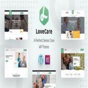 قالب Lovecare برای وردپرس