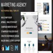 قالب ایمیل Marketing Agency
