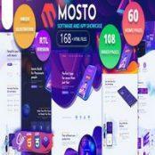 قالب HTML لندینگ Mosto