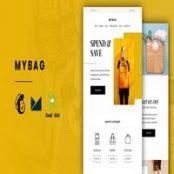 قالب HTML ایمیل و خبرنامه MyBag