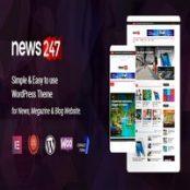 قالب فارسی News247 برای وردپرس