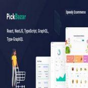 قالب React GraphQL فروشگاهی Pickbazar