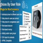 افزونه Prices By User Role for WooCommerce