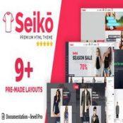 قالب HTML فروشگاهی Seiko
