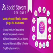 افزونه Social Stream Designer برای وردپرس