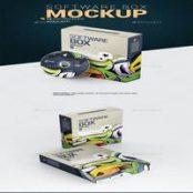 موکاپ جعبه نرم افزار Software Box Mockup