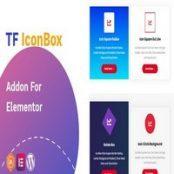 افزونه TF IconBox Addon برای المنتور