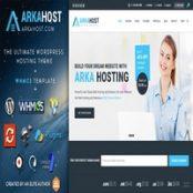 قالب هاستینگ Arka Host برای وردپرس