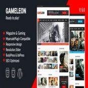 قالب بازی و مجله Gameleon برای وردپرس