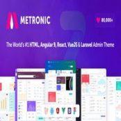 قالب Metronic