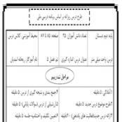 طرح درس روزانه دوم دبستان درس اندازه گیری فصل ۵
