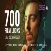 دانلود ۷۰۰ Film Looks – LUT Color Preset Pack