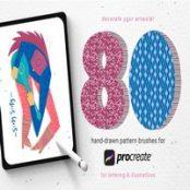 دانلود ۸۰ hand-drawn patterns برای پروکریت