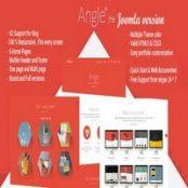 قالب Angle برای جوملا