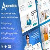 قالب ApexClinic برای وردپرس