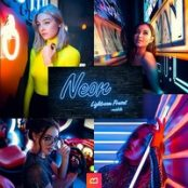 پریست لایتروم Artistic Collection – Neon Lightroom Preset