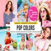 پریست لایتروم Color Pop