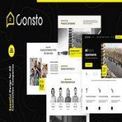 قالب HTML ساختمانی Consto