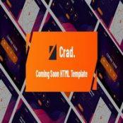 قالب HTML5 صفحه به زودی Crad