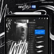 قلم موی پروکریت DevBrush 6.0