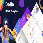 قالب HTML پورتفولیو Dolio