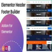 افزونه Elementor Header Footer Builder
