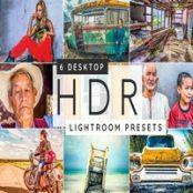 پریست لایت روم HDR Lightroom desktop presets