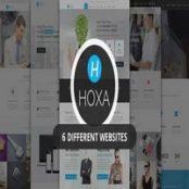 قالب Hoxa برای جوملا
