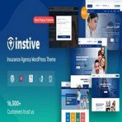 قالب خدمات بیمه Instive برای وردپرس