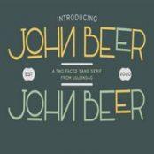 فونت John Beer