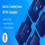 قالب HTML به زودی KasCo