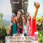 پریست لایتروم موبایل Landscape & Travel MOBILE Lightroom