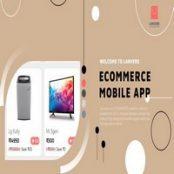 اپلیکیشن فروشگاهی Lanvere برای آیفون