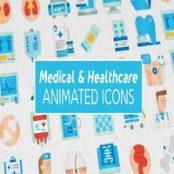افترافکت Medical & Healthcare Icons  آیکن های پزشکی