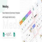 قالب فروشگاهی Medsy