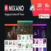 قالب مینیمال Mixano برای وردپرس