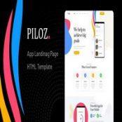 قالب HTML لندینگ Piloz