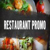 پروژه افترافکت تبلیغ رستوران Restaurant Promo