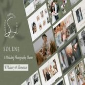 قالب عکاسی عروسی Solene برای وردپرس
