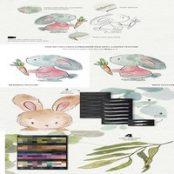 دانلود Watercolor & Pencil Procreate brushes