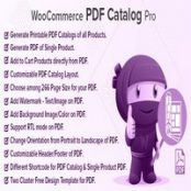 افزونه WooCommerce PDF Catalog Pro برای وردپرس