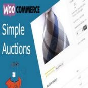 افزونه مزایده ووکامرس WooCommerce Simple Auctions