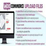 افزونه WooCommerce Upload Files