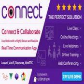 اسکریپت وبینار و آموزش آنلاین Connect