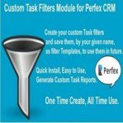 ماژول Custom Task Filters برای Perfex CRM