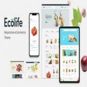 قالب Ecolife برای وردپرس