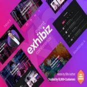 قالب HTML رویداد و کنفرانس Exhibiz