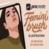براش FeminiBrush برای پروکریت