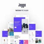 قالب HTML املاک Jagga